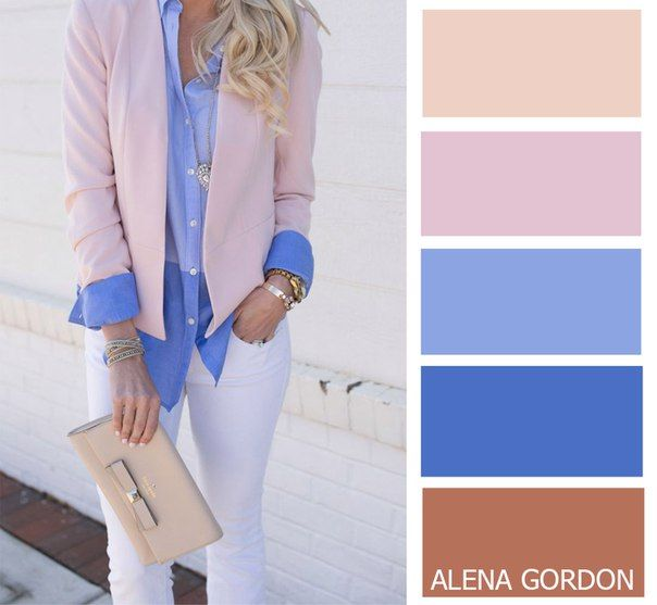 Color-Block Fashion by Alena Gordon | VK