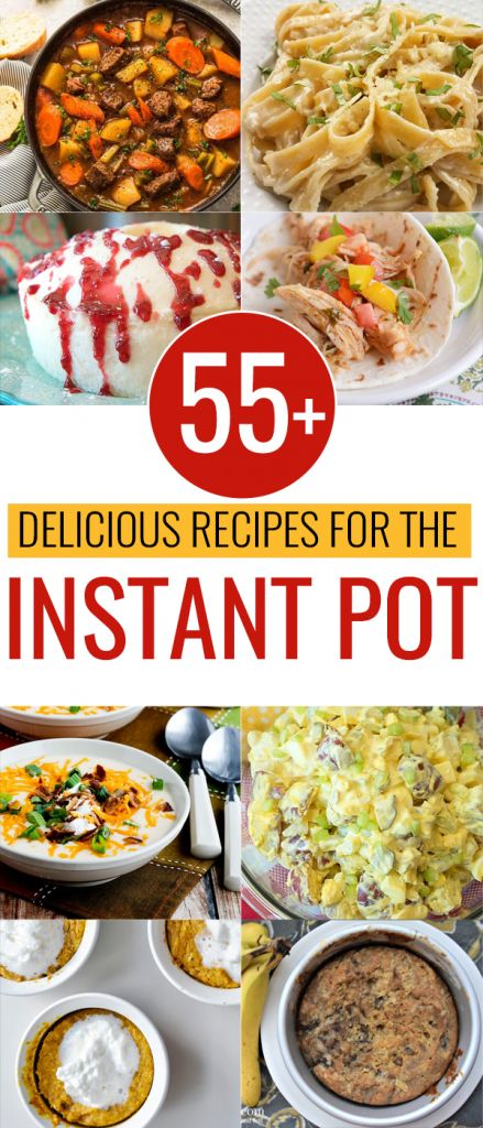 So many Instant Pot recipes! These are the easiest dinner, desserts and side dish recipes. There are even Paleo and Keto options!