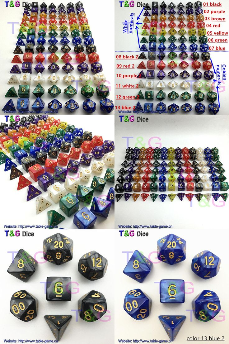 [Visit to Buy] 7pc/lot dice set  d4 d6 d8 d10 d10 d12 d20  High quality Multi-Sided Dice with marble effect -DUNGEON and DRAGONS game rpg dice #Advertisement