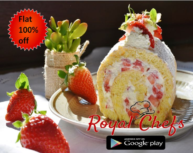 Flat 100% OFF on first 50 order. Use Coupon: RC100 Download the app now! https://goo.gl/7zgs0I ‪#‎RoyalChefs‬ ‪#‎VasantKunj‬ ‪#‎DelhiNCR‬