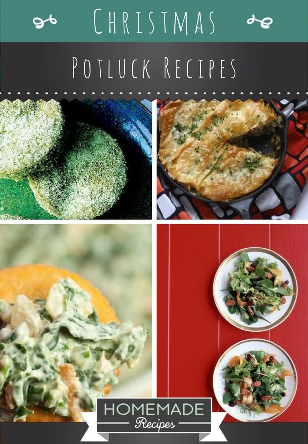 25 Christmas Potluck Recipes for Your Office Party | http://homemaderecipes.com/christmas-potluck-recipes/