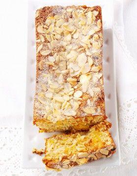 Cake aux flocons d'avoine et aux abricots