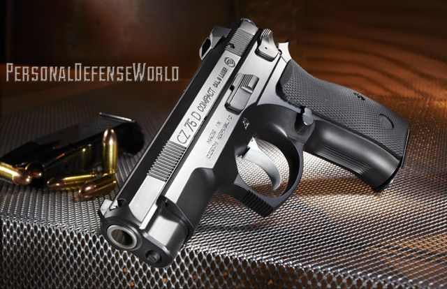 SNEAK PEEK at the upcoming COMBAT HANDGUNS Feb 2014 issue: CZ 75D PCR Compact 9mm: With the CZ 75D PCR Compact 9mm, classic reliability meets next-gen enhancements!