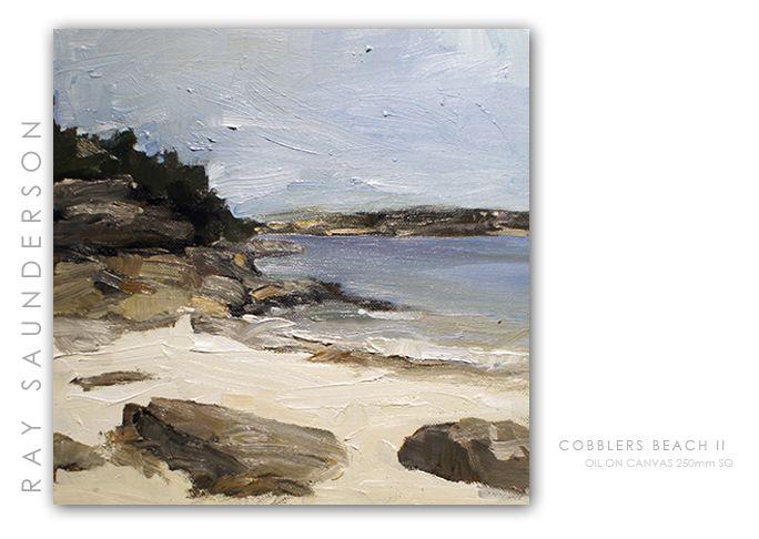 Cobblers Beach Oil on Canvas