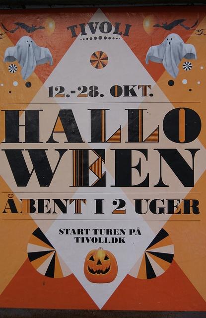Tivoli Halloween Poster, Copenhagen (3), via Flickr.