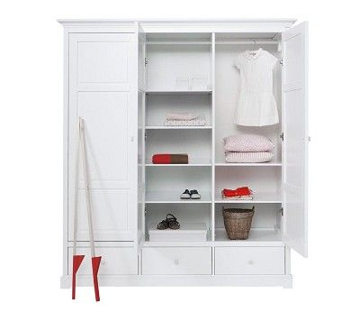 Wardrobe with 3 doors Oliver Funiture