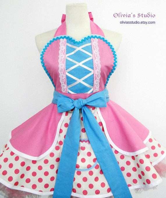 Little Bo Peep Costume Apron by OliviasStudio on Etsy