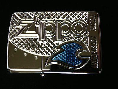 Zippo-ARMOR-RARE-80th-CUSTOM-100-Produced-2-Lighter-Set-099-of-100
