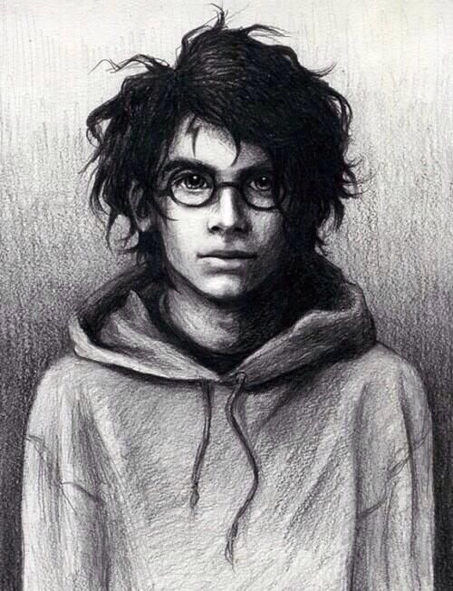How I imagined Harry in the books ...