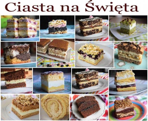 50 propozycji ciast na Święta