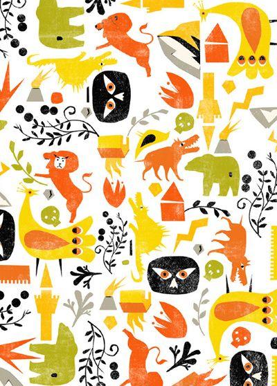 print & pattern: DESIGNER - mashkaman