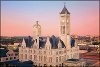 Historic Union Station Hotel Nashville. Staying there next weekend.