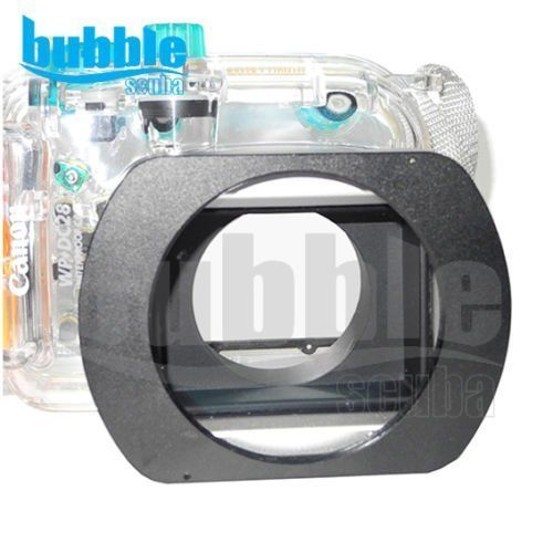 M67 wetAdapter ring for Canon G10 G11 G12 G15 Waterproof Housing -- You can get additional details at the image link.