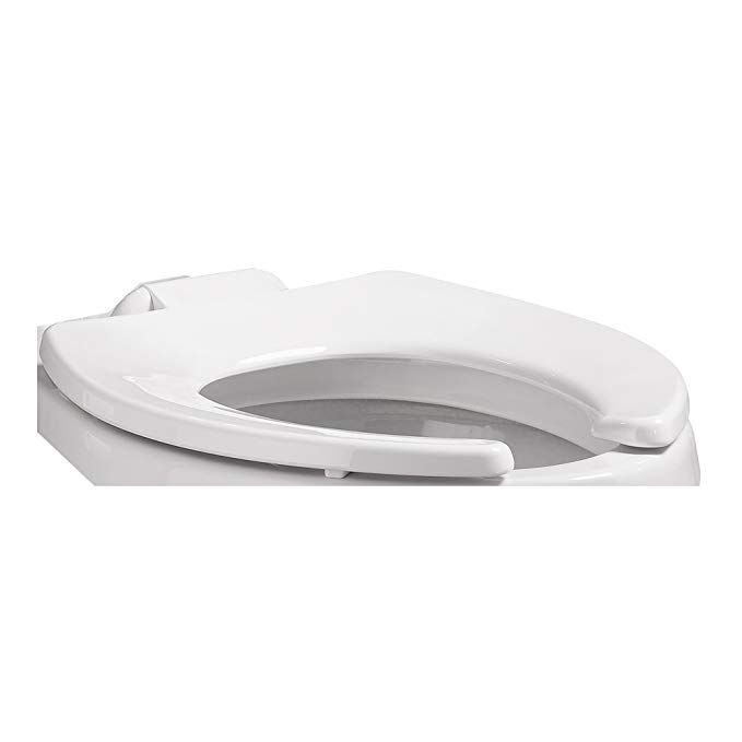 American Standard 5309 110 020 Right Width Open Front Toilet Seat