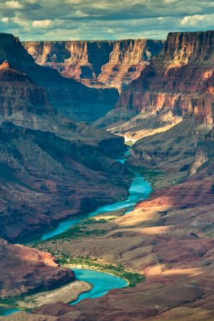Grand Canyon from Tanner Trail by Eva0707