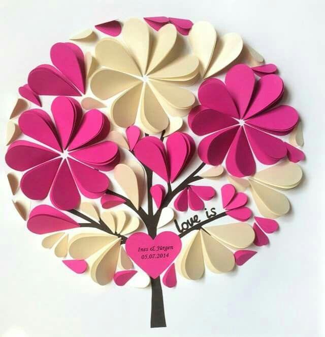индекс открытка сердечко с цветами из бумаги своими руками готовлю развёрнутую статью