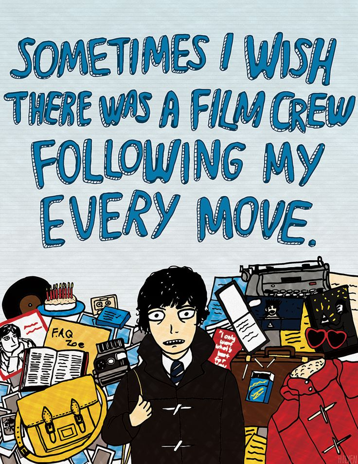 Role Models #5: Oliver Tate from Submarine by Hulyen
