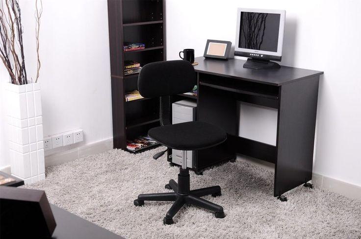 Computer Typist Chair Seat Office Operator Rest Back Study Desk School Black