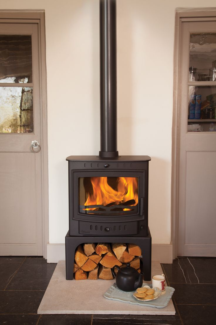 Outstanding recommended small wood burning stoves - Villager Esprit 8 Solo Multifuel Stove From Fireplace Products