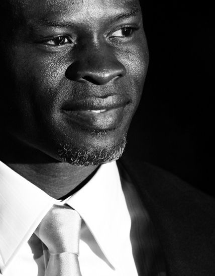 Djimon Gaston Hounsou:  Beninese-American actor / model. As an actor, Hounsou has been nominated for two Academy Awards. ~Repinned Via Melodee Hughes