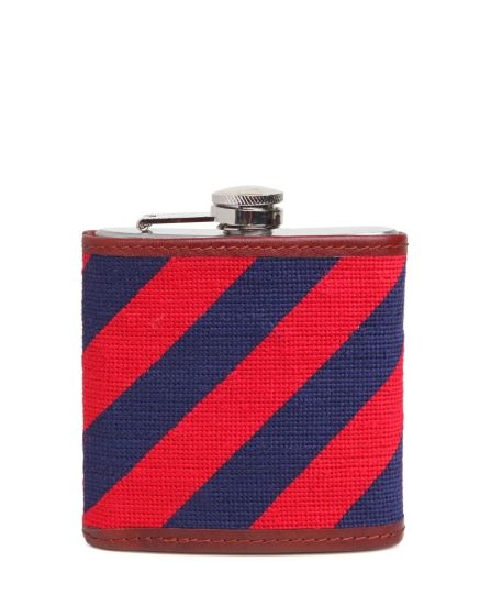 The Needlepoint Flask (via Design is Mine)