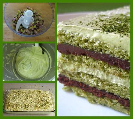 Pistachio Tiramisu - the website is in Italian. Use Google Translate. Pretty straightforward.