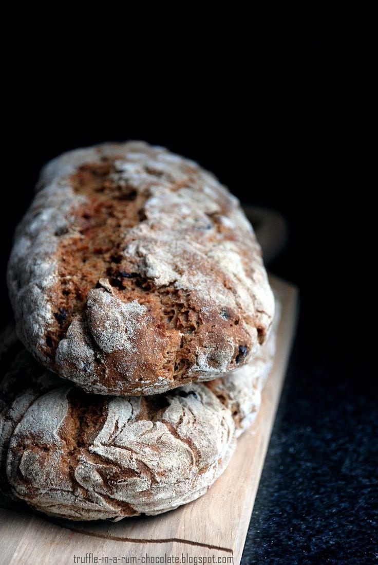 Sourdough raisin breads