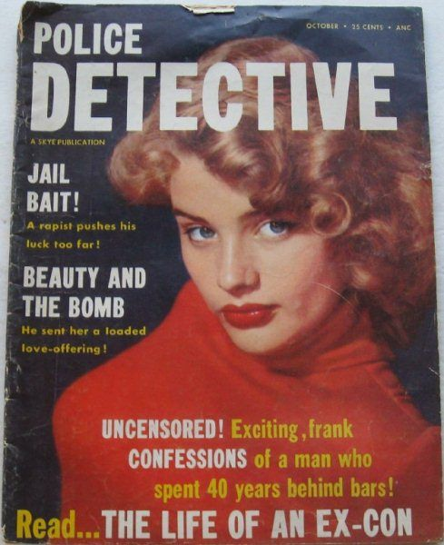 Police Detective - October, 1955