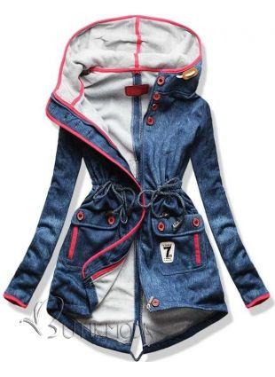 Sweatjacke  hellblau Jeans D233N