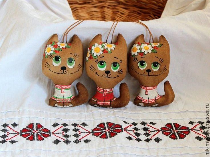 Купить КОТИКи - разноцветный, ароматизированная игрушка, кофейный, корица, ваниль, котик, котейка, русский стиль