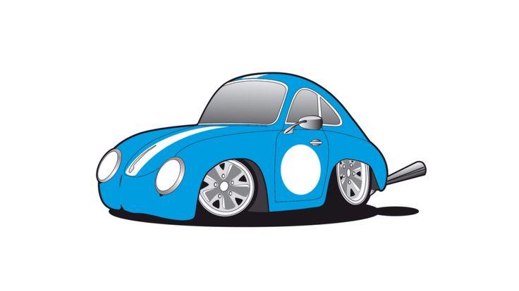 Porsche 356 Cartoon