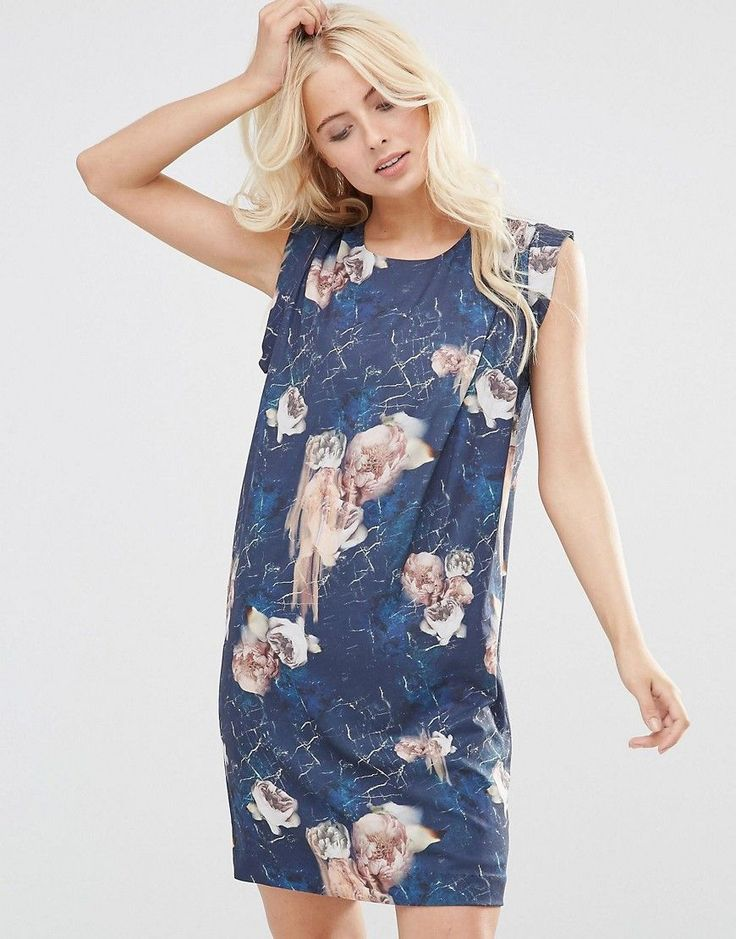 Buy it now. Y.A.S Smuge Floral Print Shift Dress - Multi. Casual dress by Y.A.S., Woven fabric, Round neckline, Drape front detail, All-over floral print, Keyhole back, Relaxed fit, Machine wash, 100% Polyester, Our model wears a UK 8/EU 36/US 4 and is 174cm/5'8.5 tall. ABOUT Y.A.S. Y.A.S. � �your apparel and style� � sees the successful Vero Moda Very transformed into a contemporary, fashion-forward brand. Exuding understated cool, Y.A.S. is for the independent girl who sees what she...