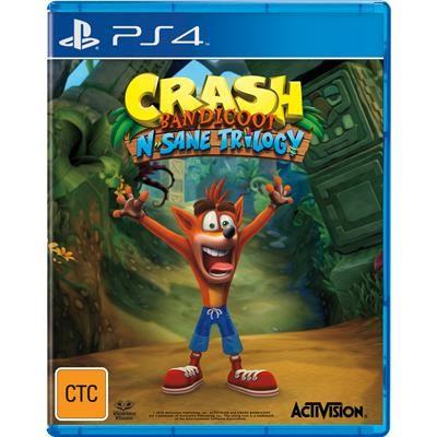 JB Hi-Fi | Crash Bandicoot N. Sane Trilogy PlayStation 4