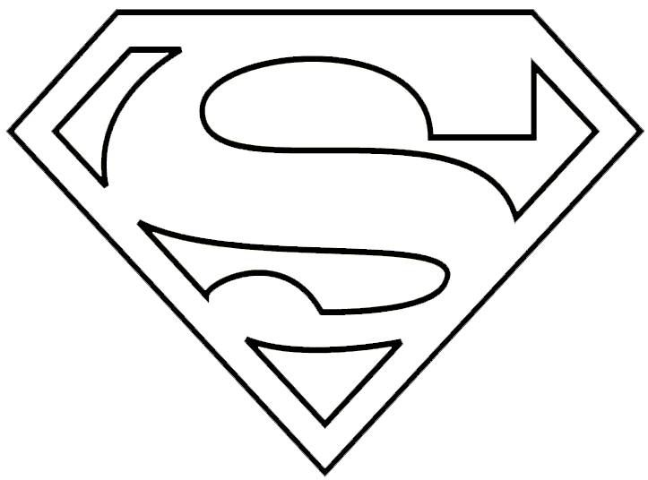 Superman Logo Template 12 723 X 536 Making The Web Com