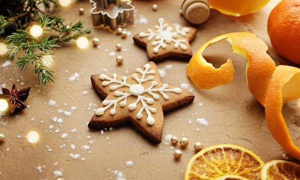 Μπισκότα κανέλα πορτοκάλι