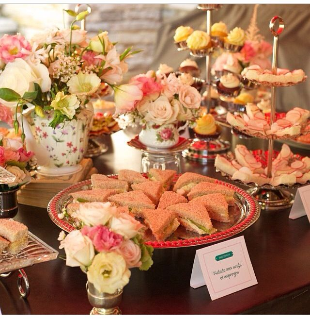 A catering service that can take any idea we throw at them and bring it to life. #VIVEfood #JavaUCatering #TeaParty