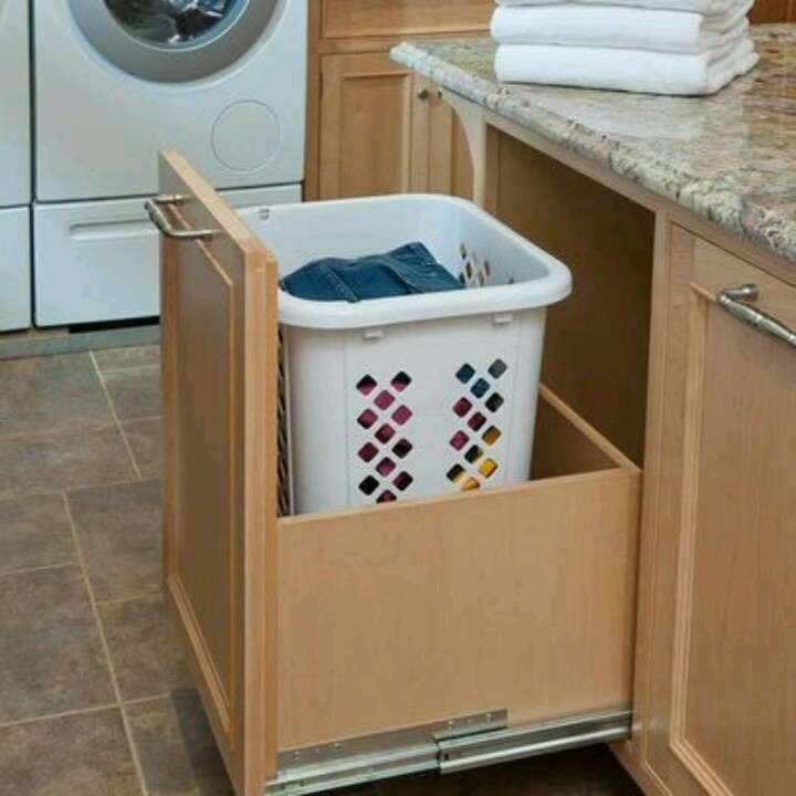 Dirty Kitchen Drawer: Laundry Room Bathroom