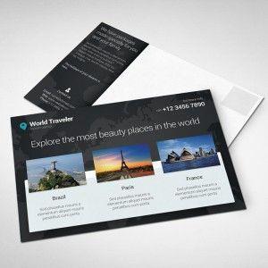 Cartão postal para lançamento de produtos