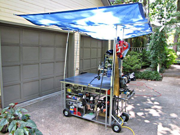 Mobile Weld Cart / Work Table