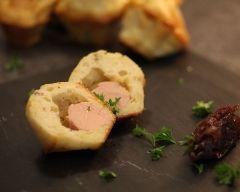 Cake foie gras - figues