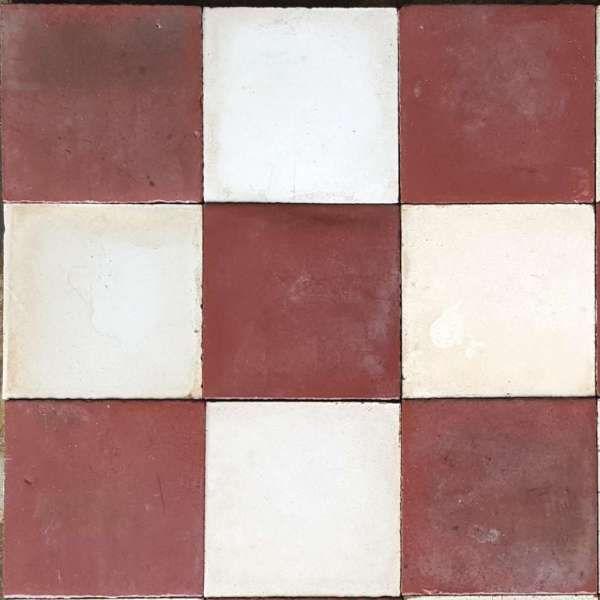 Carreaux De Ciment Anciens A Rouge Noir Et Blanc Dimension 20 20 Cm Provenceretrouvee Carreaux De Ciment Anciens Carreau De Ciment Ciment