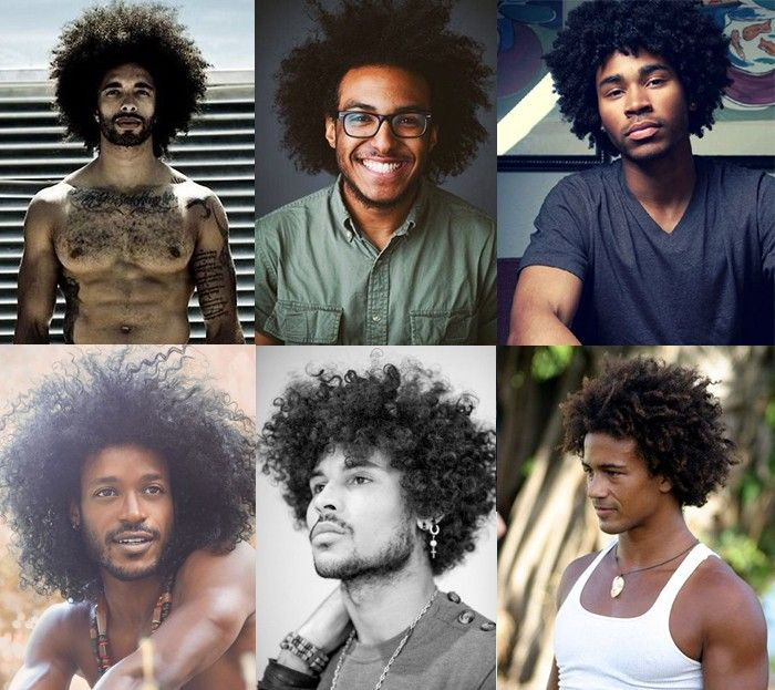 Cabelo Afro Masculino Black Power
