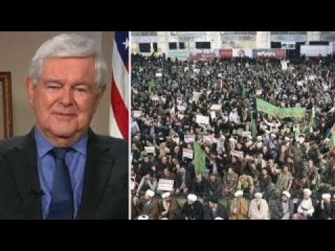 Newt Gingrich on Iran protests, 2018 political landscape - YouTube