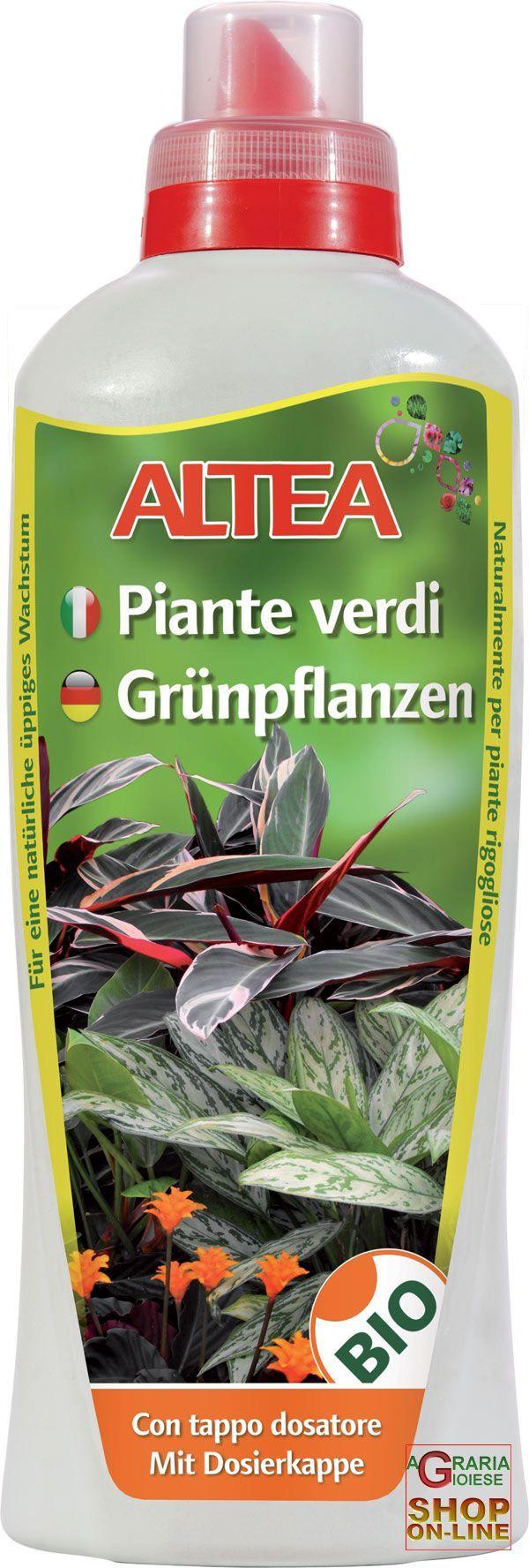 ALTEA PIANTE VERDI LIQUIDO CONCIME ORGANICO LIQUIDO PER PIANTE VERDI ORNAMENTALI 1 L https://www.chiaradecaria.it/it/altea/453-altea-piante-verdi-liquido-concime-organico-liquido-per-piante-verdi-ornamentali-1-l-8033331133798.html