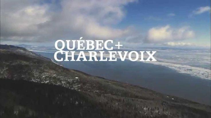 Massif de Charlevoix et Mont-Sainte-Anne, Sommets du St-Laurent Ski // Ski Québec