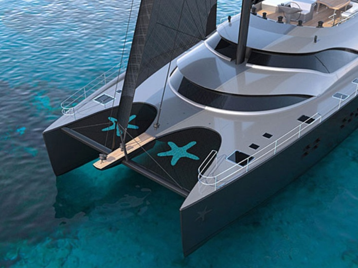 Catamaran yacht - let's go for a ride~