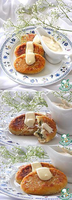 Пирожки картофельные с тунцом - кулинарный рецепт