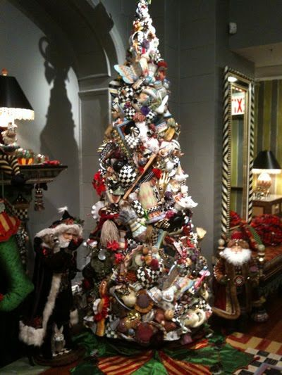MacKenzie Childs Pottery Tree | Home for the Holidays | Pinterest ...