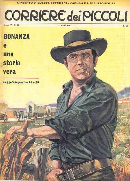 """Corriere dei Piccoli """"Bonanza"""" Italy"""