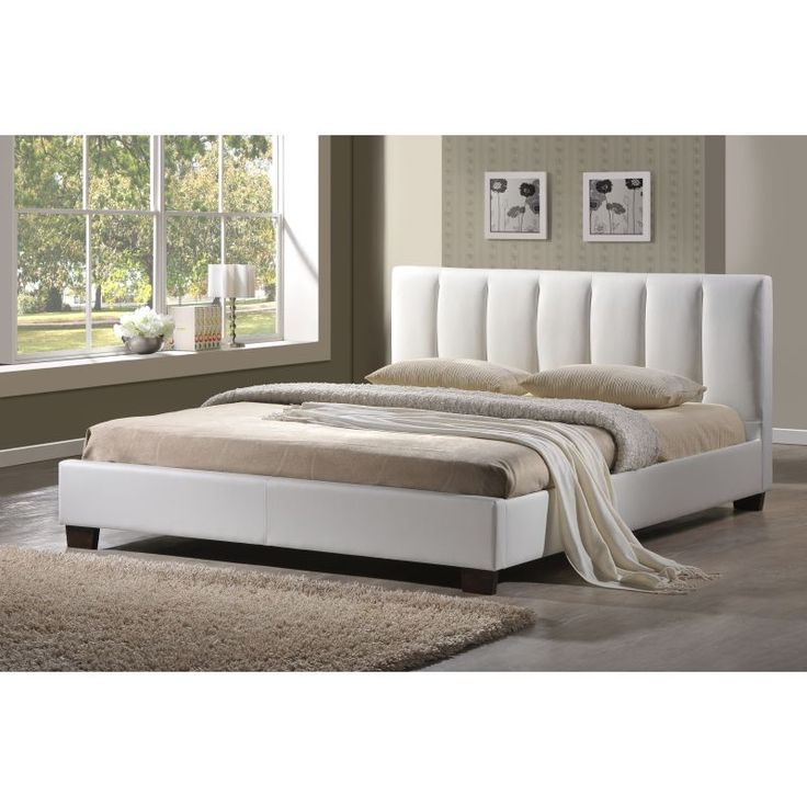 White Bed Frames best 25+ white leather bed frame ideas on pinterest | white